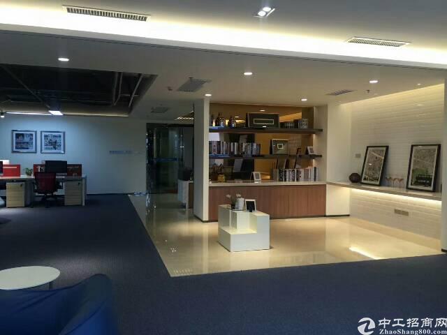福永地铁口楼上400㎡精装修写字楼出租