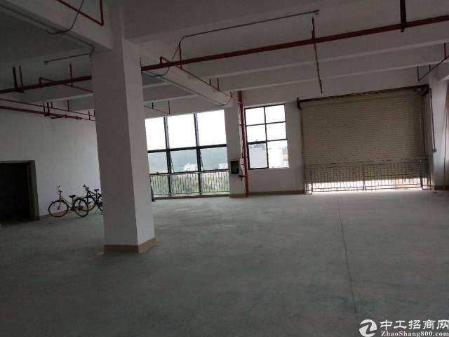 标准厂房二楼2000平 有三顿电梯吊机口