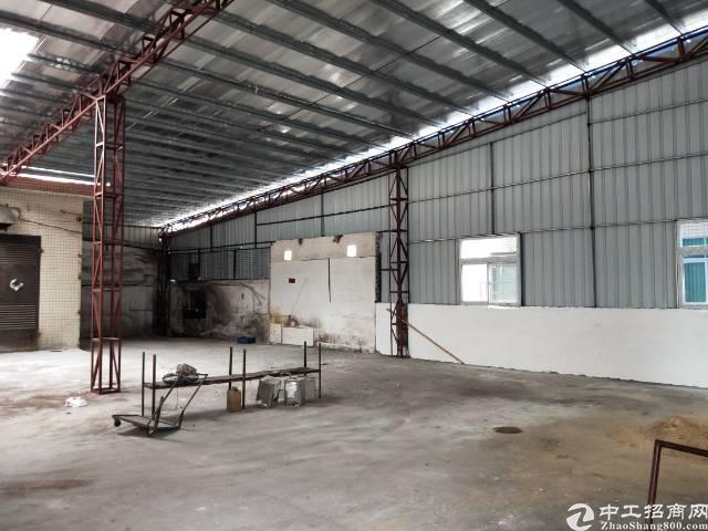 横沥东部快速旁新建铁皮厂房招租