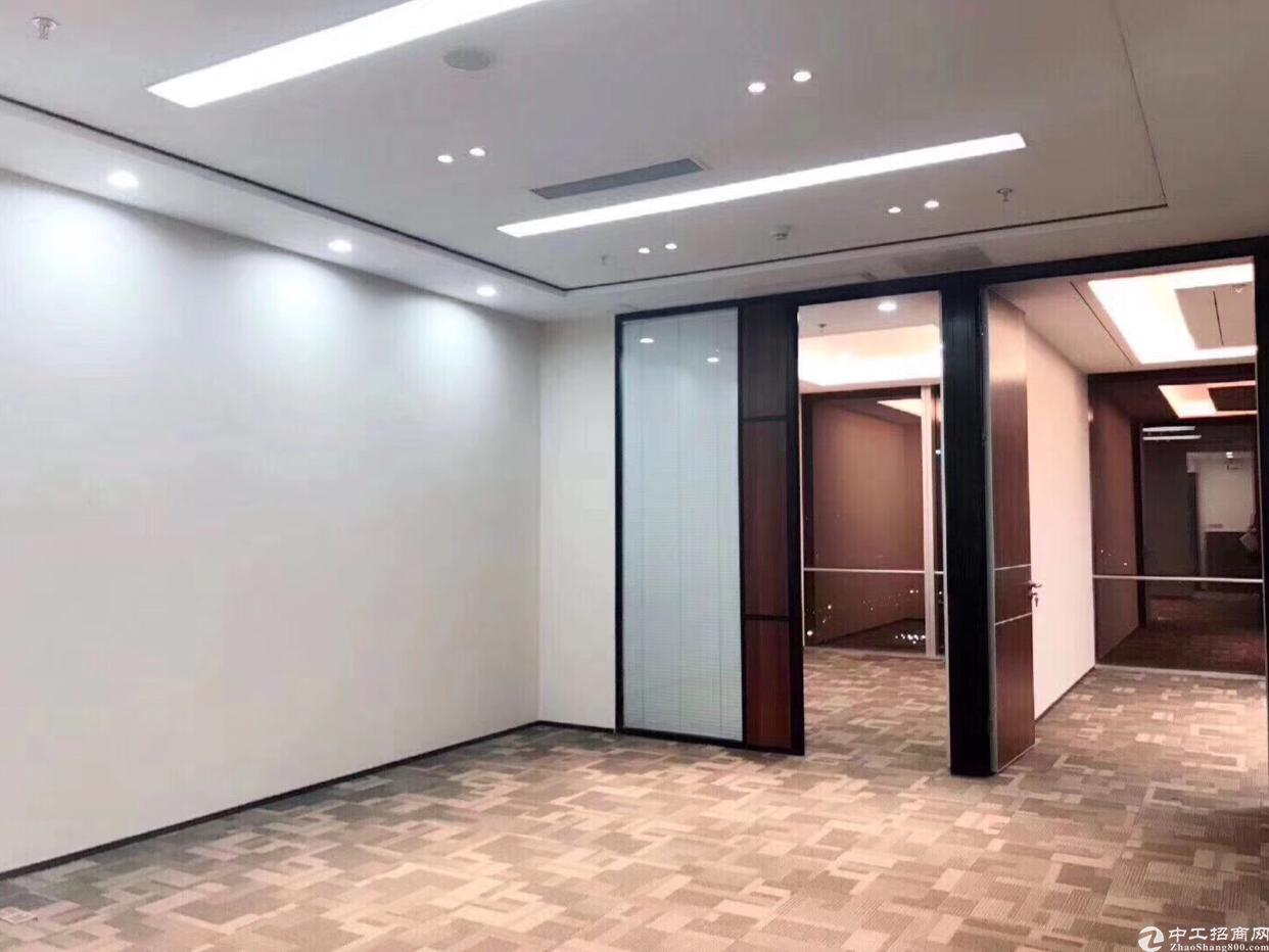 福田海岸中心甲级写字楼出租豪装,采光好