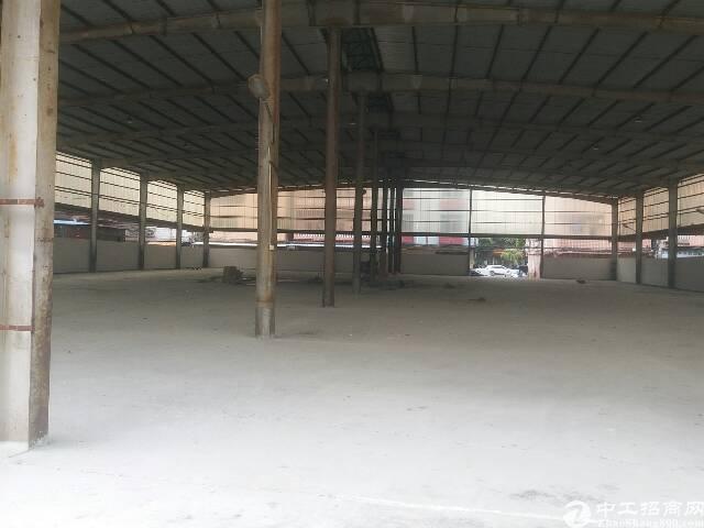 厚街汀山2500方单层9米高仓库出租
