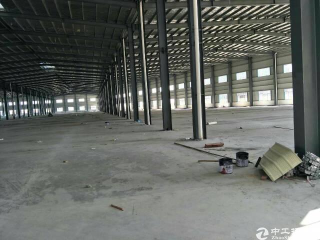 惠州惠阳长深高速路口新出独院钢构厂房16000平方招租