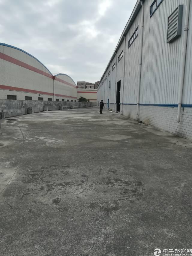 钢结构高台仓库7500平方出租,高度9米,待装消防喷淋