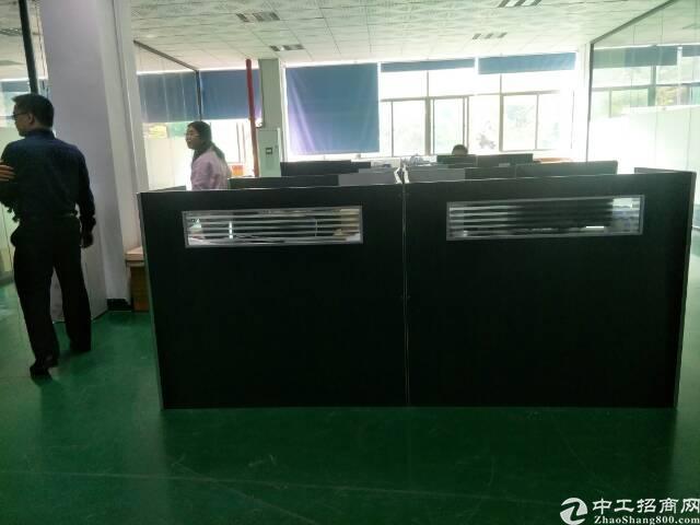 福永地铁站新出楼上1200平米精装修厂房招租