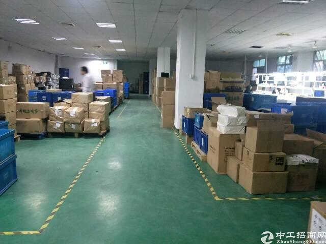 福永地铁站新出楼上1200平米精装修厂房招租-图3