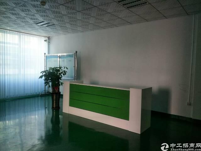 福永地铁站新出楼上1200平米精装修厂房招租-图5