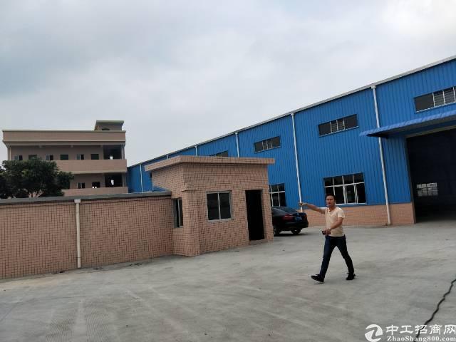企石镇独门独院单一层滴水8米钢构厂房出租-图7