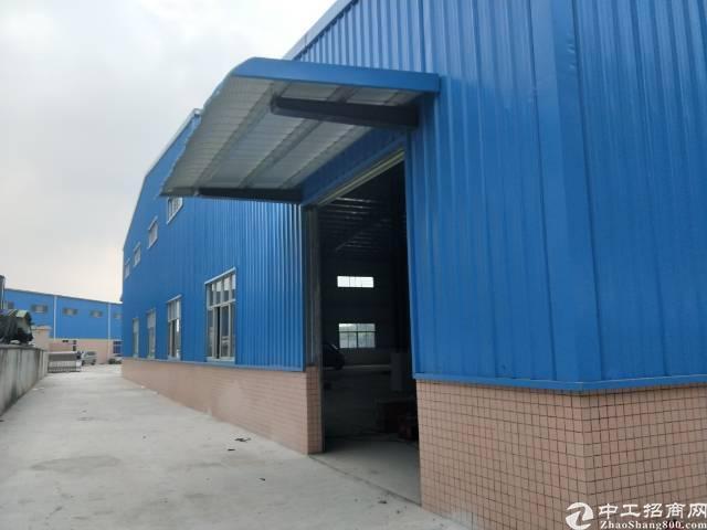企石镇独门独院单一层滴水8米钢构厂房出租-图6