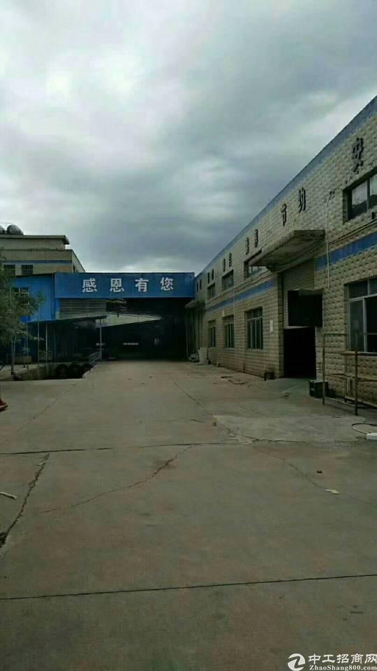 独门独院钢构厂房8600平米招租