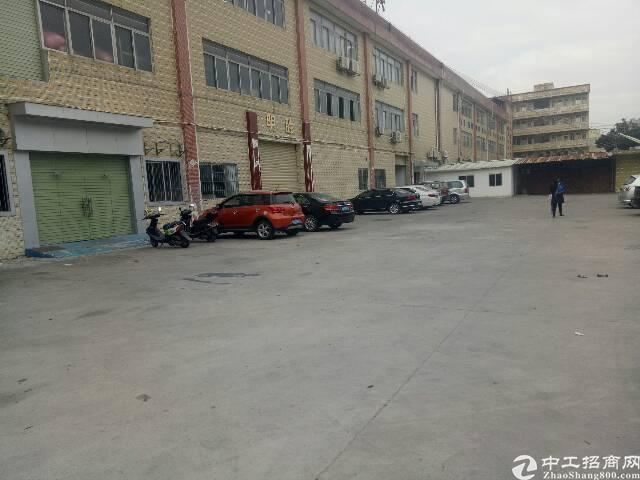 虎门镇怀德新空出厂房一楼二楼4000平方出租