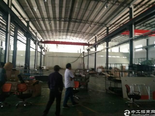 公明大型工业园新出钢结构带行车厂房出租