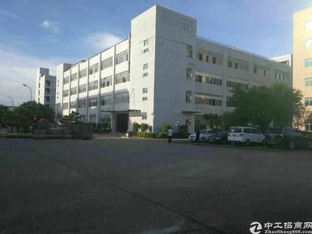 龙岗大型工业园8000平米独栋带红本租25
