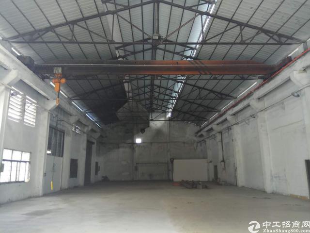 虎门怀德标准钢构带航车的厂房出租-图2