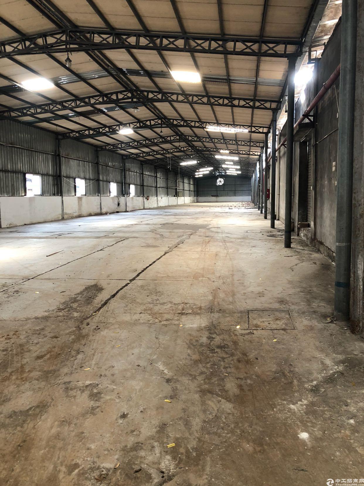 布吉一楼带卸货平台钢构-图2
