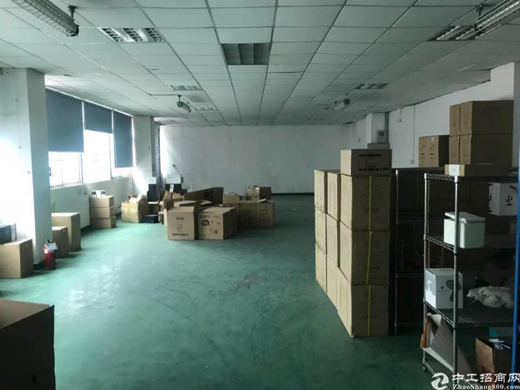 福永新和新出楼上750平方带精装修厂房招租-图4