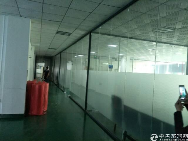福永地铁站新出楼上1200平米精装修厂房招租-图2