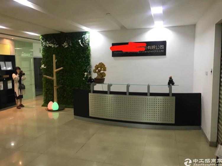 福永新和新出楼上750平方带精装修厂房招租-图3
