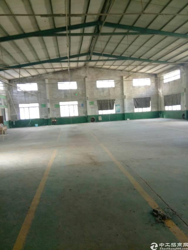 惠阳区秋长镇新推出标准钢构厂房3000平方全新招租