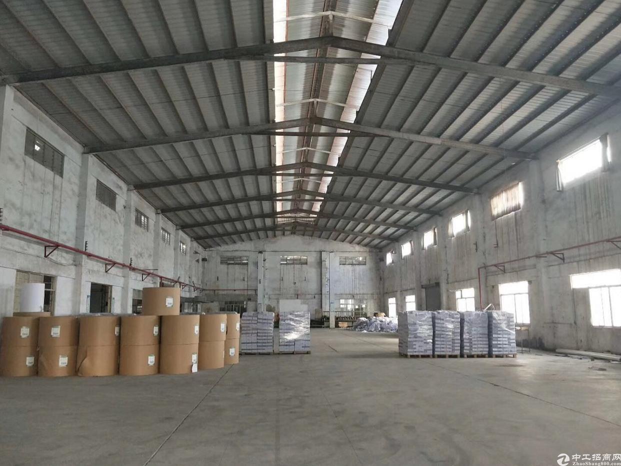 万江港口大道边新出单一层独院4600平米,有独立办公楼,