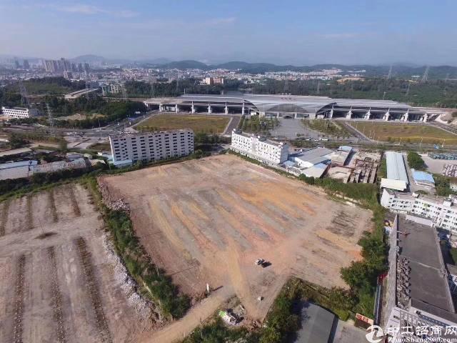 坪山高铁站对面占地4万平方出售