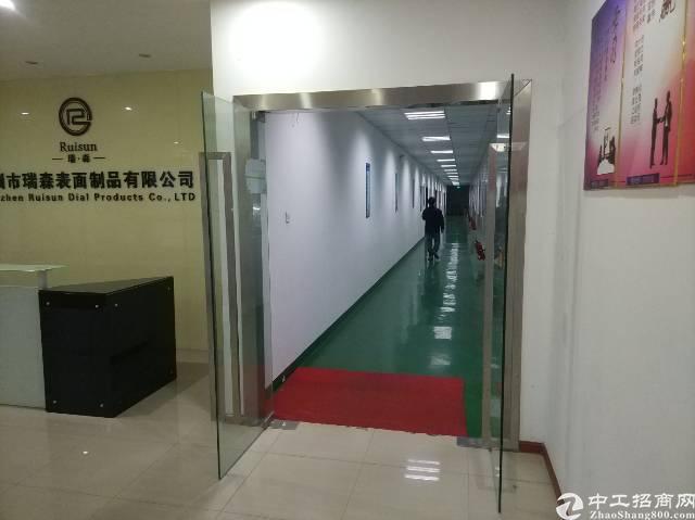松岗大田洋新出楼上厂房2600平方米带装修有红本原房东