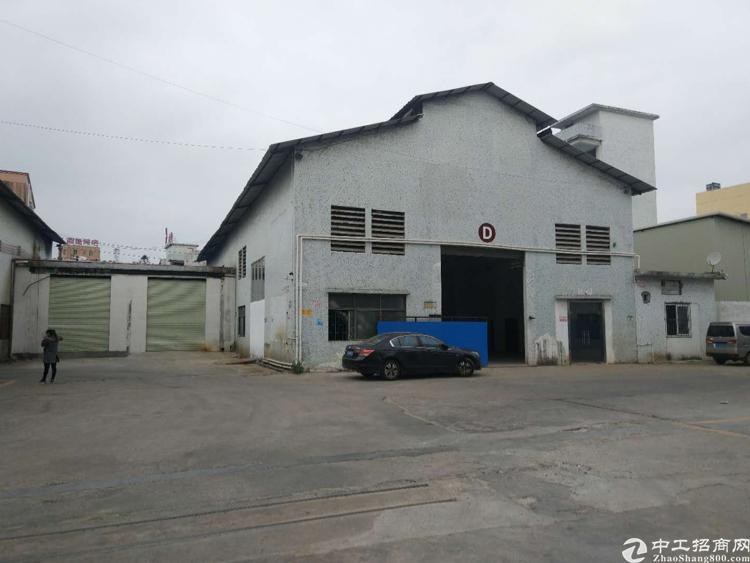 虎门怀德标准钢构带航车的厂房出租