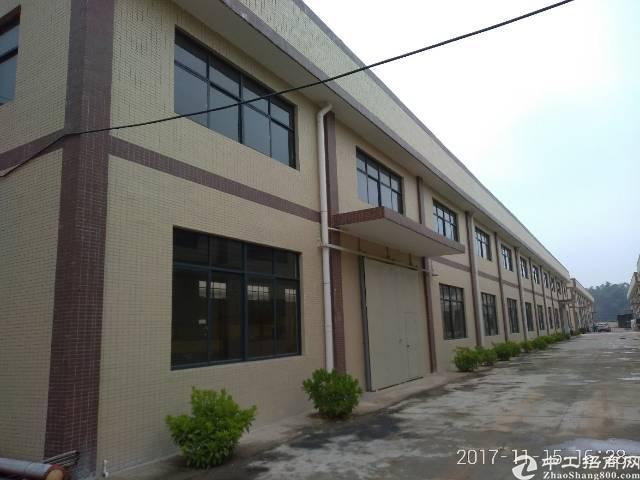 惠阳沙田钢构厂房3200平米出租可分租