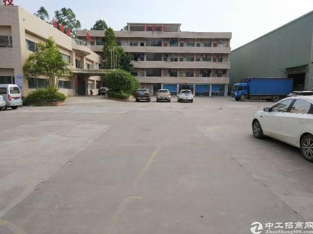 陈江主干道边9米高钢构厂房2300平方米招租
