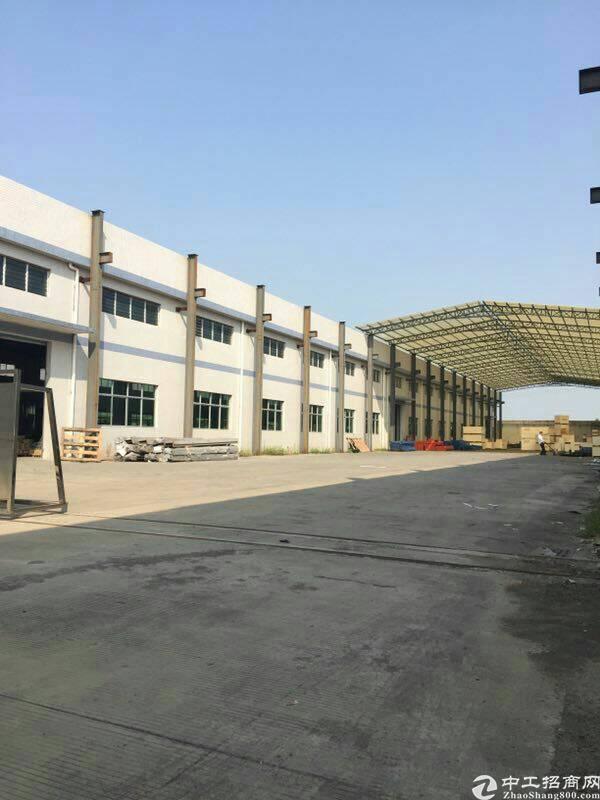 园洲石湾独院单一层厂房3000平米,宿舍800