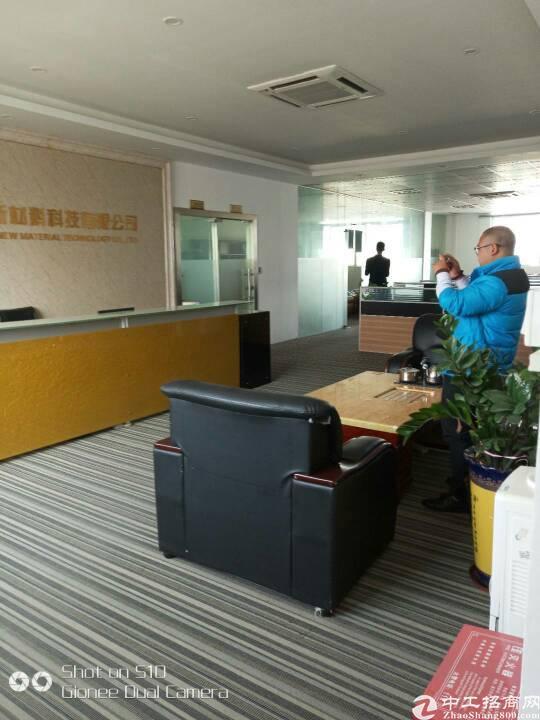 坪山东纵路面带地坪漆和精装办公厂房1200平-图4