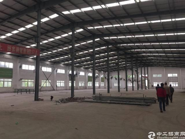 惠阳秋长新出独院7000平米独门独院空地大钢构厂房出租