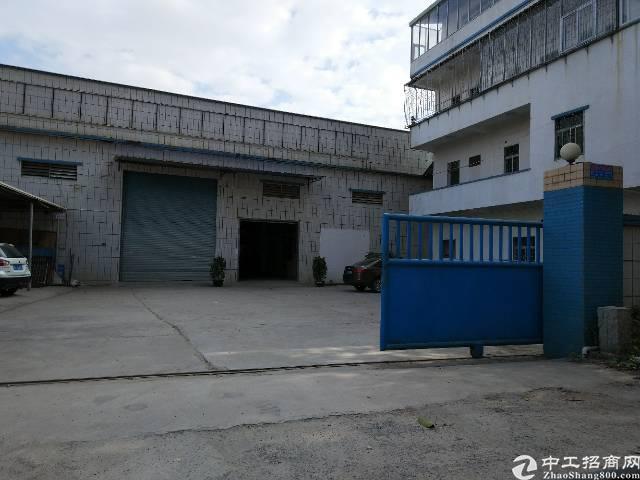 陈江镇白云路附近独院厂房分租一楼800平方
