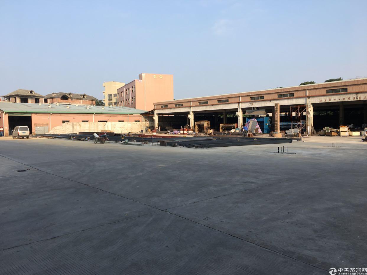 横沥新建1500平米钢构厂房出租