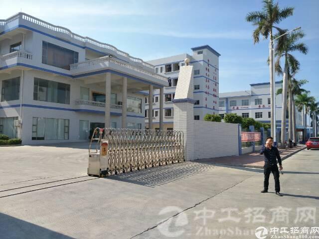 横沥镇工业区内独门独院8900平米厂房形象大气出租