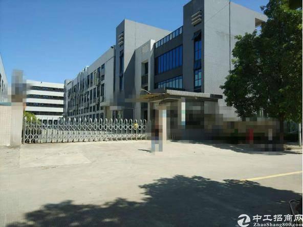横沥镇建筑 8000 ㎡政府合同厂房出售