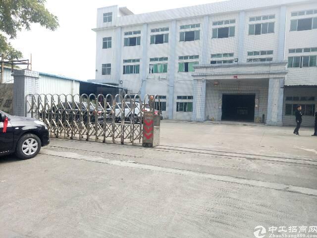 虎门镇怀德标准厂房一楼1550平方出租有现成办公室