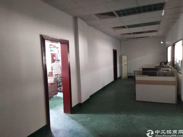 沙井黄埔新出独院厂房1到3层6000平方出租。