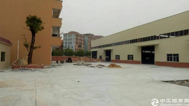 东莞市靠近高速出口全新钢构厂房原房东出租