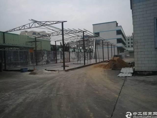 虎门镇新湾加油站附近实业客分租一楼新建钢结构厂房400平