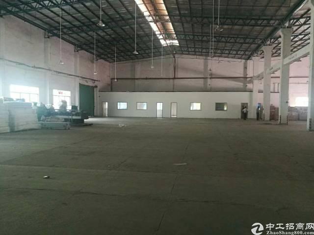 福永107边上20米钢构厂房3500平方,高8米-图3
