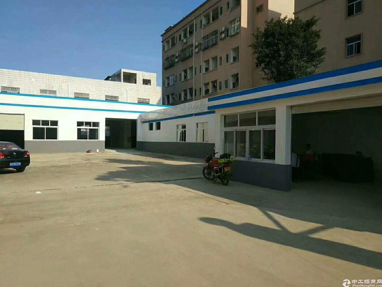 虎门沿江高速出口附近独院厂房3500平方、精装修、空地超大-图2