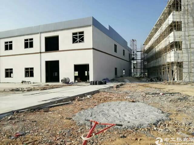 新建13600m²的独院单一层厂房
