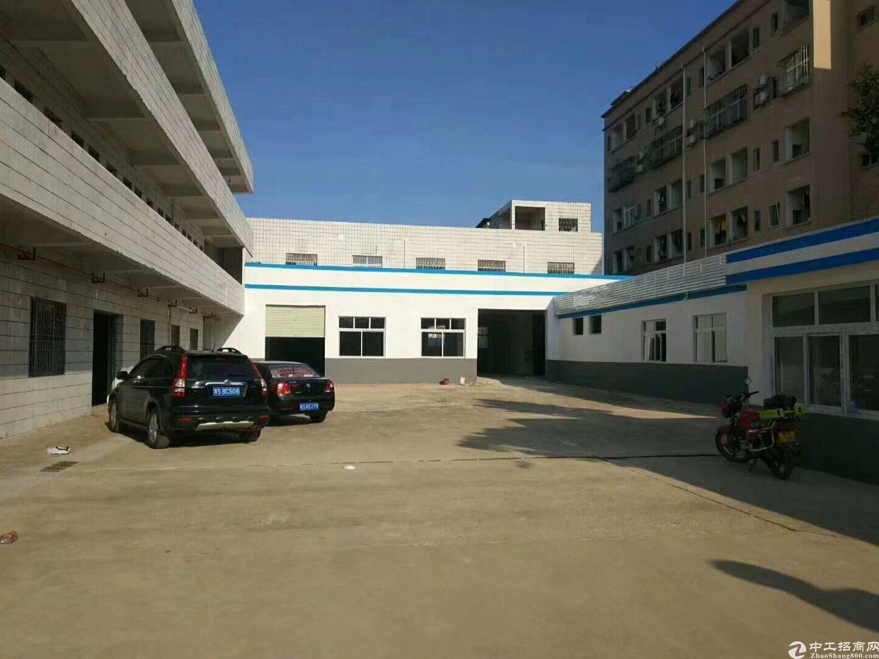 虎门沿江高速出口附近独院厂房3500平方、精装修、空地超大