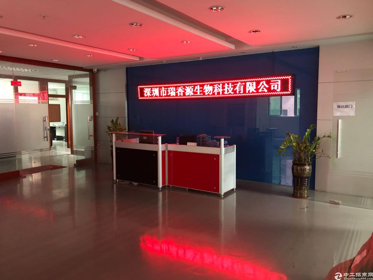 福永沿江高速出口2000平米带装修厂房