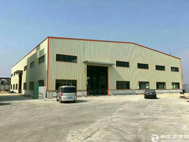 茶山全新钢构厂房4200平方