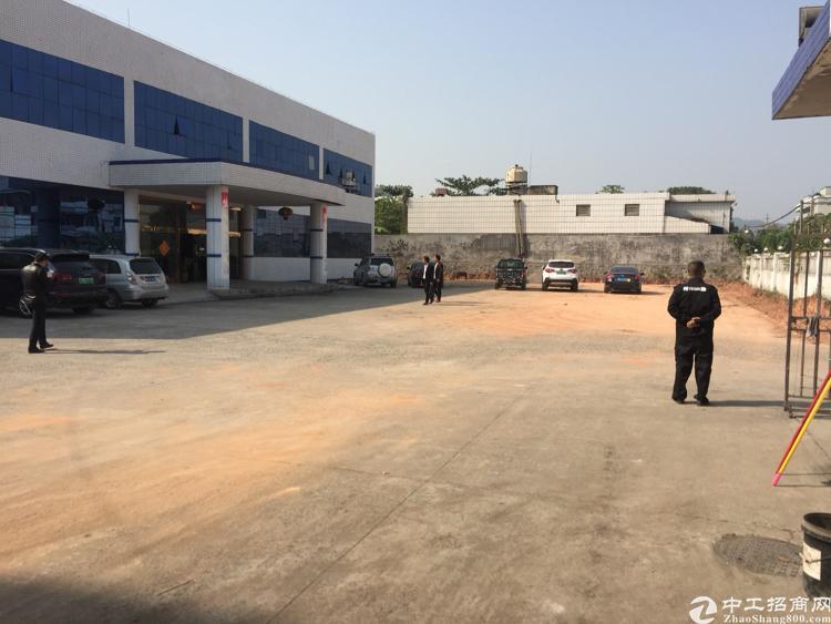 清平高速口9600平方米独院厂房出租