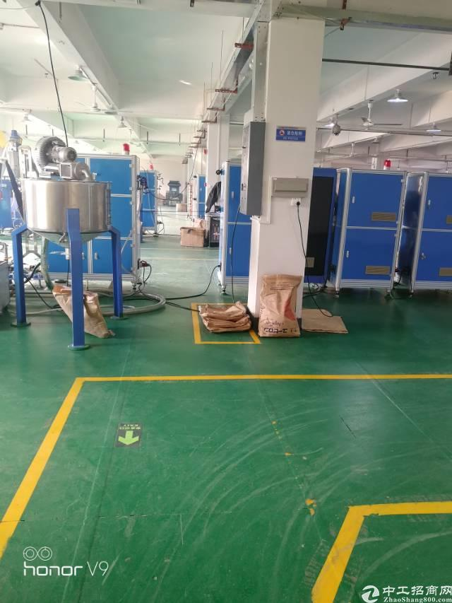 福永新出楼上2000平米带装修厂房出租