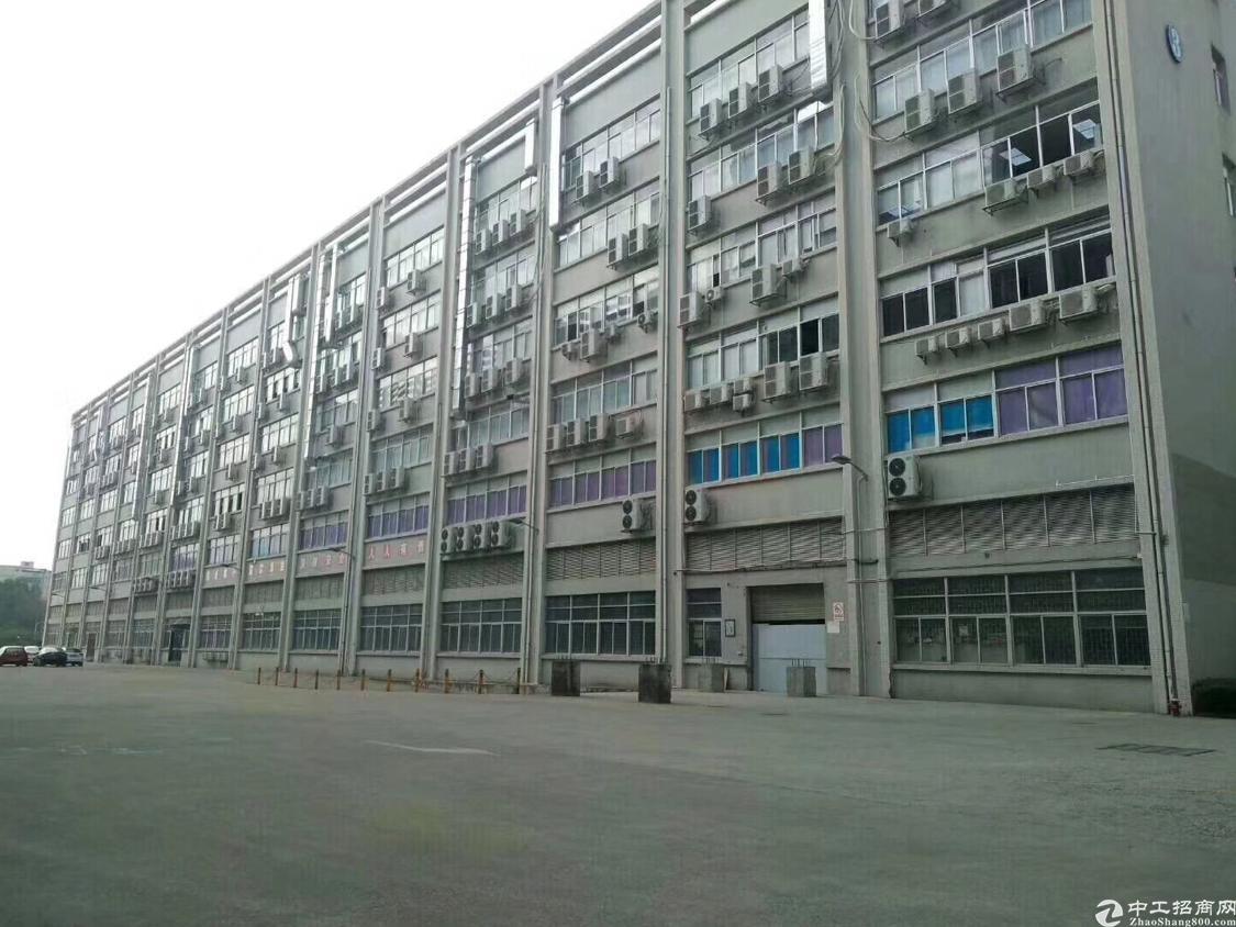 石岩德政路旁带红本楼上5480厂房出租