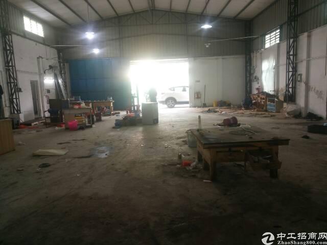 黄江镇靠深圳公明新出超靓标准单一层钢构厂房!!