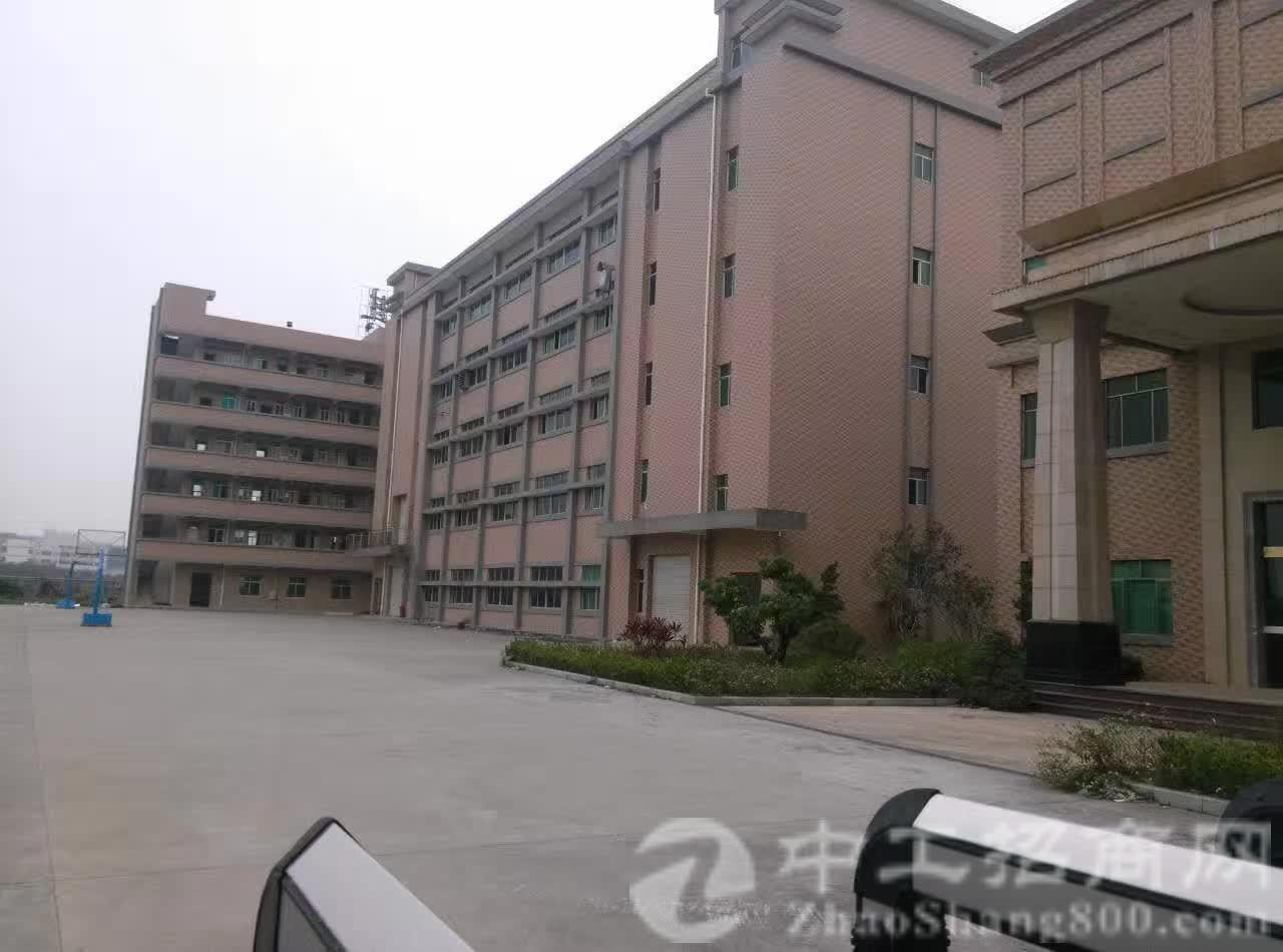 茶山镇原房东带红本厂房 厂房1-5层9800平方有卸货平台,